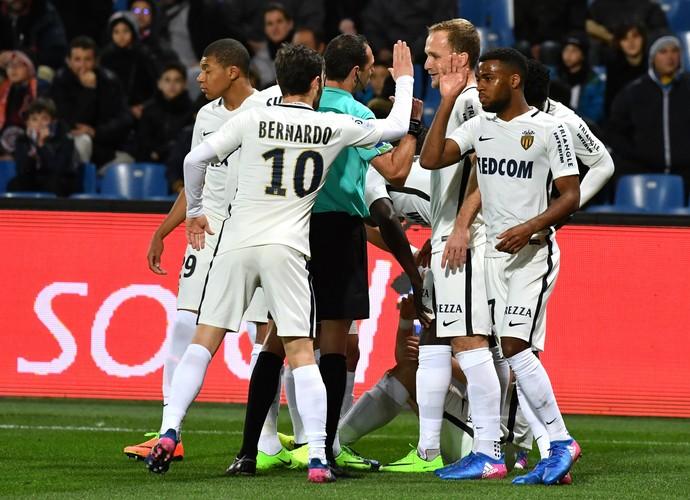 Montpellier x Monaco (Foto: AFP)