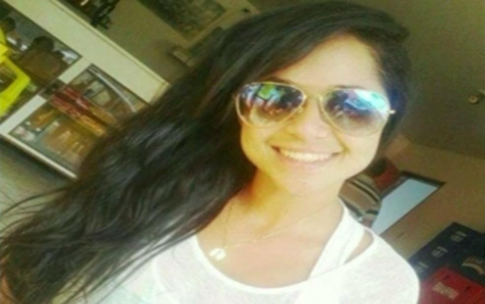 Rayane Araújo da Silva é morta em Anápolis (Foto: Reprodução/ TV Anhanguera)