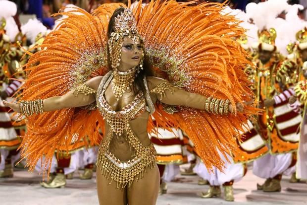 Galeria Reis do Carnaval - Viviane Araújo (Foto: Marcio Nunes / Photo Rio News)