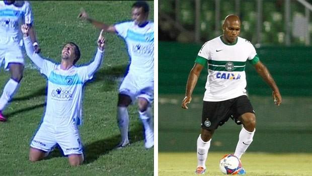 Londrina e Coritiba é o jogo do domingo na RPC TV (Foto: Reprodução/RPC TV e Divulgação/Site Coritiba FC)