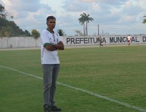 Betão, treinador do Serrano-PB (Foto: Hévilla Wanderley / GloboEsporte.com/pb)