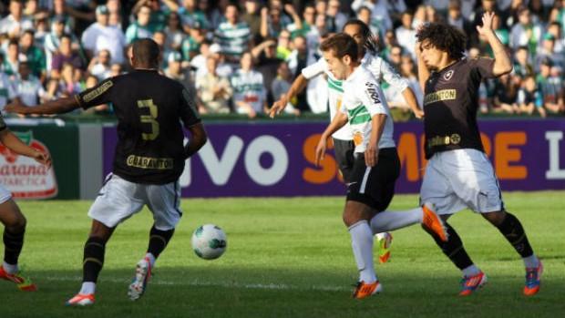 Coritiba x Botafogo (Foto: Divulgação/Site oficial do Coritiba)