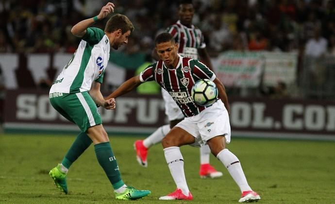 Richarlison Fluminense x Goiás (Foto: Nelson Perez/Fluminense)