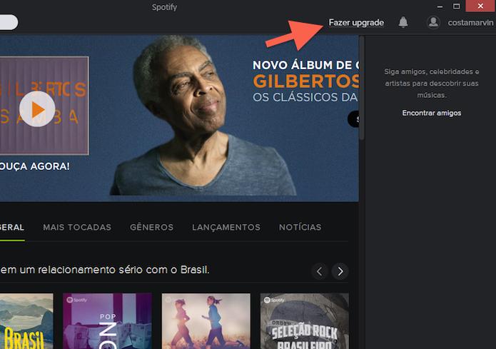 Iniciando um cadastro Premium no Spotify (Foto: Reprodução/Marvin Costa)