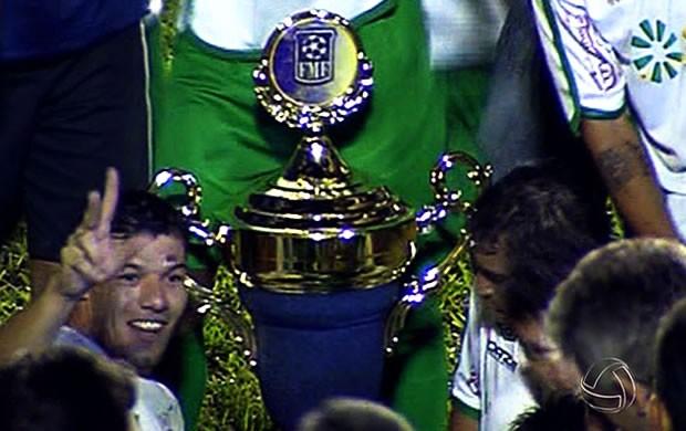 Luverdense campeão 2012 (Foto: Reprodução/TVCA)