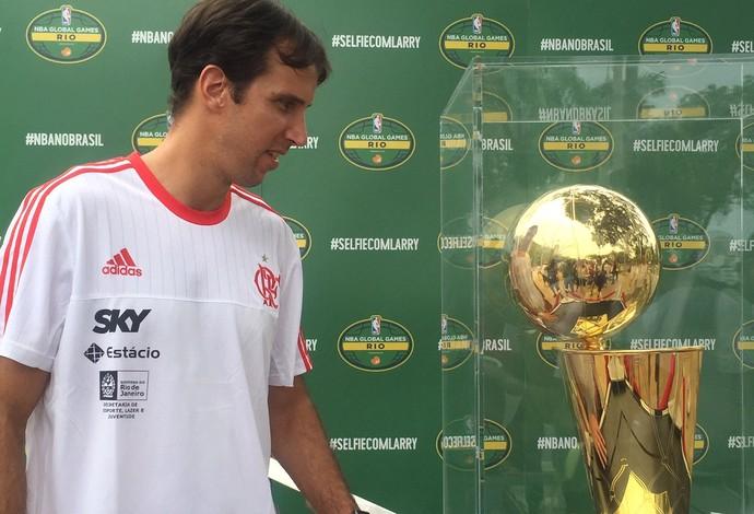 Marcelinho Machado terá mais um capítulo em sua história pelo Flamengo (Foto: Amanda Kestelman)