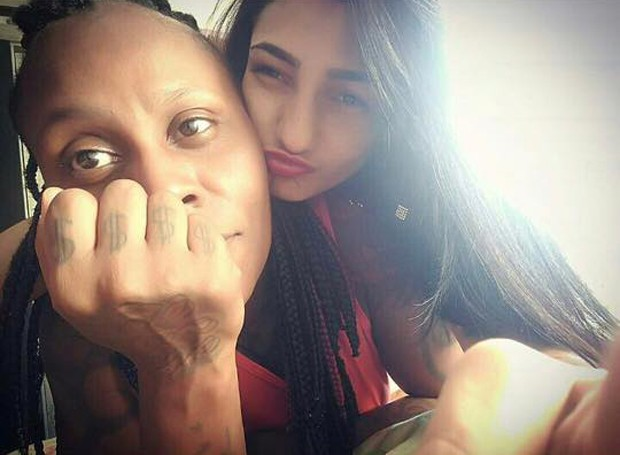 Pepê e a mulher, Thalyta Santos (Foto: Reprodução/Facebook)