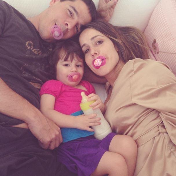 Fernanda Pontes e familia (Foto: Instagram/Reprodução)