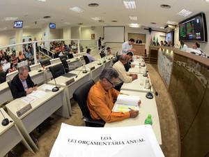 Votação do Orçamento Municipal de 2014 na Câmara de Piracicaba (Foto: Fabrice Desmonts/Câmara de Piracicaba)