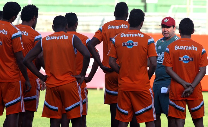 Enderson Moreira poderá ter Fred e R10 contra o Figueirense (Foto: Nelson Perez/ Fluminense F.C.)