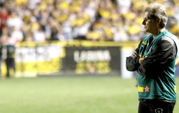 Oswaldo de Oliveira jogo Botafogo contra Criciúma (Foto: Fernando Ribeiro / Agência Estado)