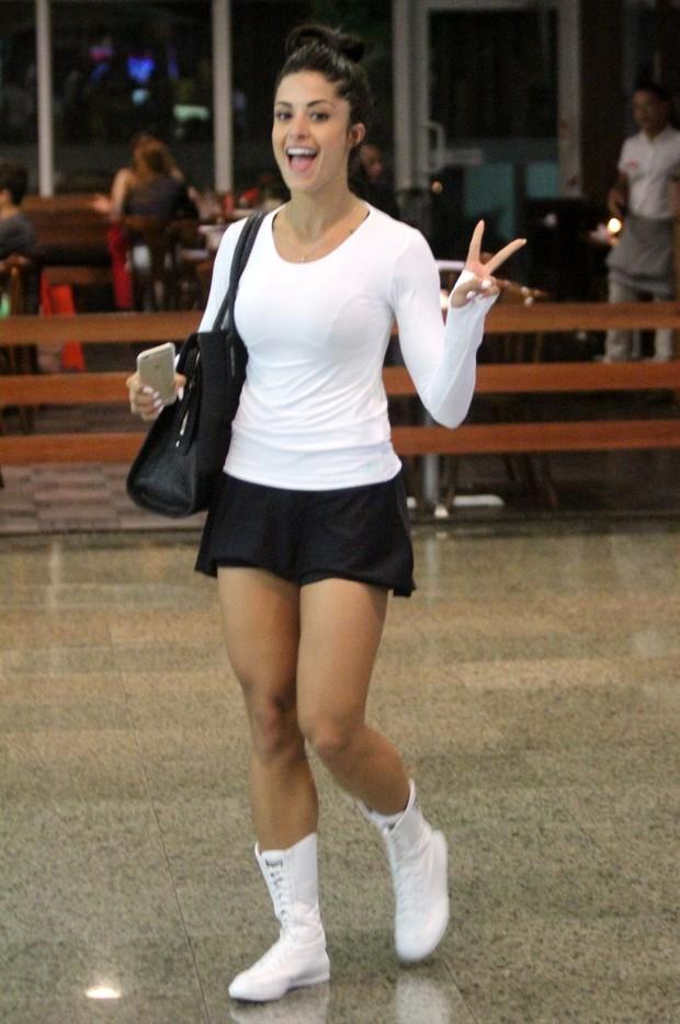 Aline Riscado (Foto: Marcos Ferreira / FotoRioNews)