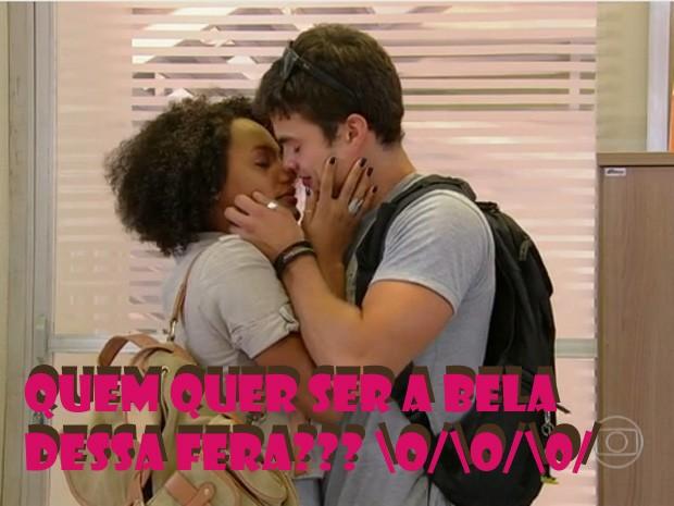 FeRita (Foto: Malhação/ TV Globo)