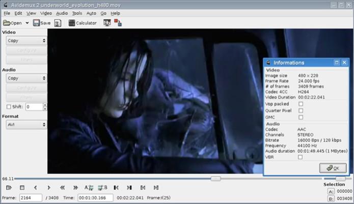 Editor Avidemux permite adicionar títulos e legendas nos vídeos (Foto: Reprodução/Teresa Furtado)