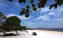 Lago Caracaranã fica a 217 Km de Boa Vista (Neidiana Oliveira/G1)