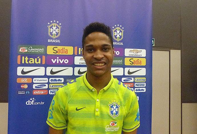 Wendell, seleção sub-21 (Foto: Felipe Schmidt / Globoesporte.com)