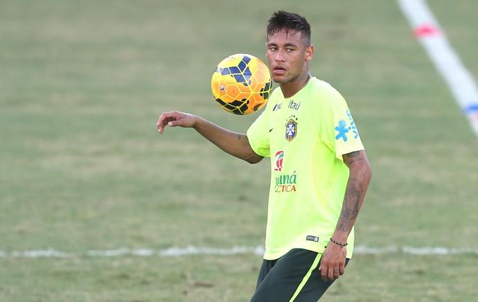 Neymar, Treino Brasil (Foto: Bruno Domingos / Mowa press)