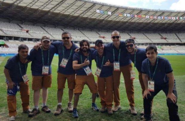 Engenharia da EPTV participa da transmissão das Olimpíadas 2016 (Foto: divulgação EPTV)