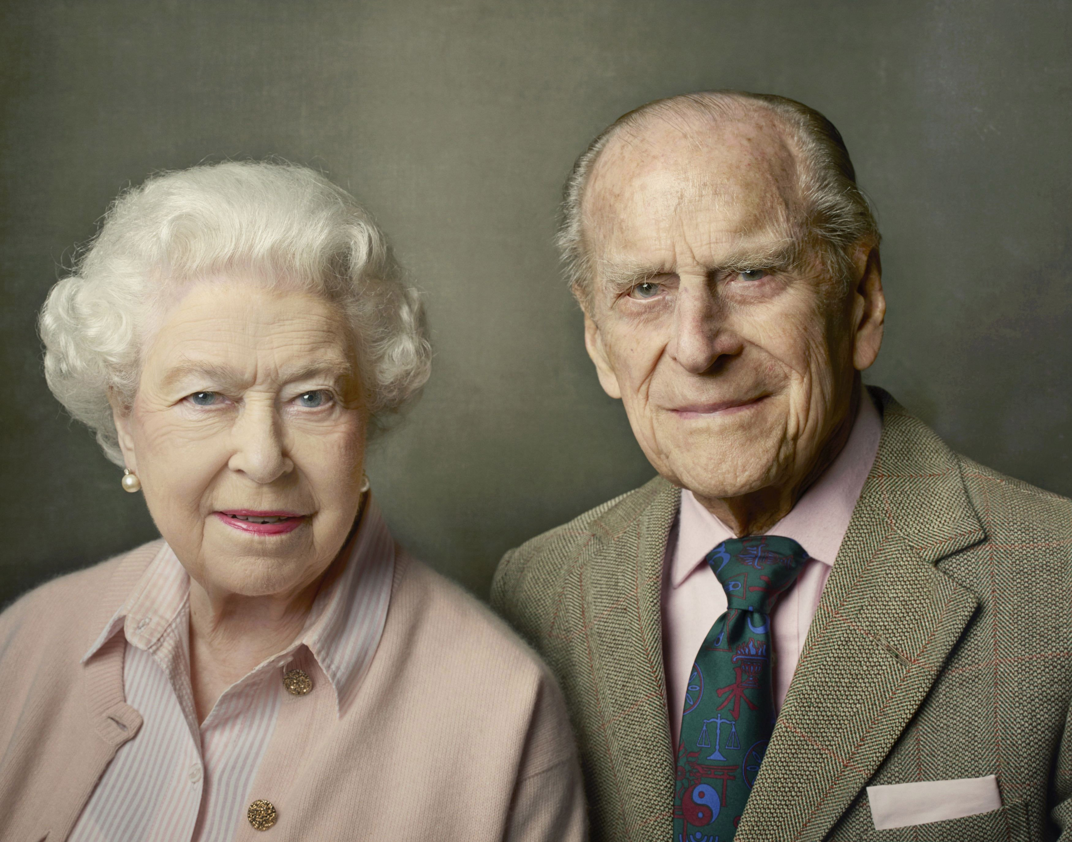 Rainha Elizabeth II e príncipe Philip celebram 69 anos de casados (Foto: Getty )