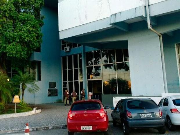 Sede da SSP-BA (Foto: Maiana Belo/G1)