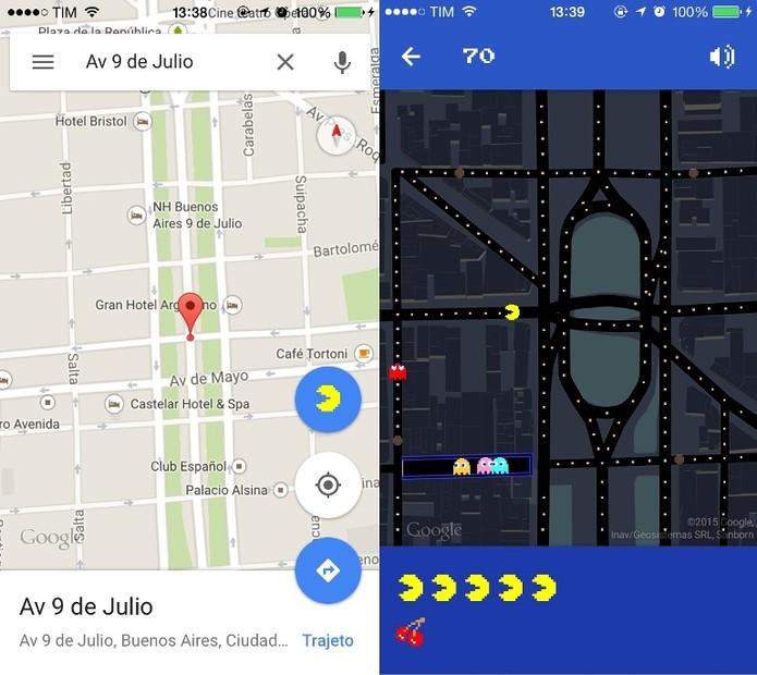 Nossa vizinha também está no enigma do Google Maps (Foto: Reprodução / Laura Martins)