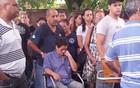 Jovem é enterrada em Santos (Mariane Rossi/G1)