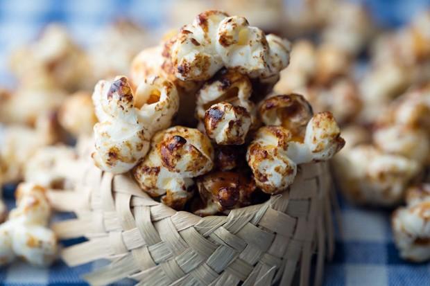 Receita de pipoca doce tradicional (Foto: Gabriela Garcia)