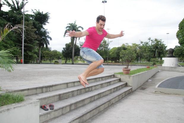 Cezar, campeão do BBB (Foto: Adna Barbosa/ego)