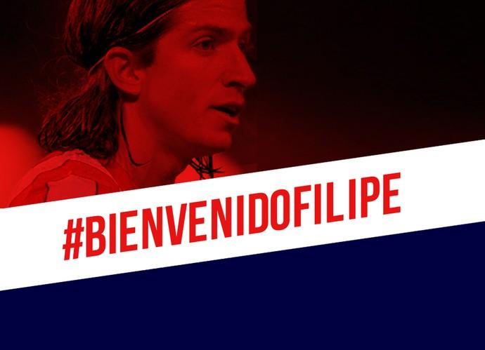 Filipe Luís Atlético de Madrid (Foto: Reprodução/Twitter)