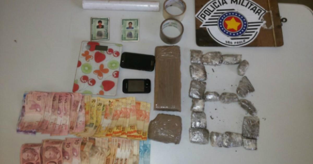 Rapazes são detidos com maconha e mais de R$ 1 mil em Avaré - Globo.com