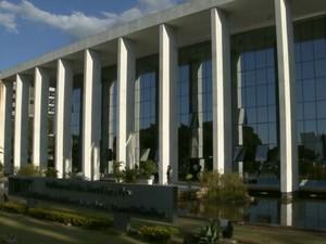 Fachada do Tribunal de Justiça do Distrito Federal e Territórios (TJDFT) (Foto: TV Globo/Reprodução)