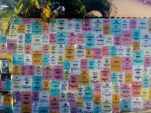 Sede do Desabafo Social fica em frente à Casa de Jorge Amado, no Rio Vermelho (Foto: Danutta Rodrigues/G1)