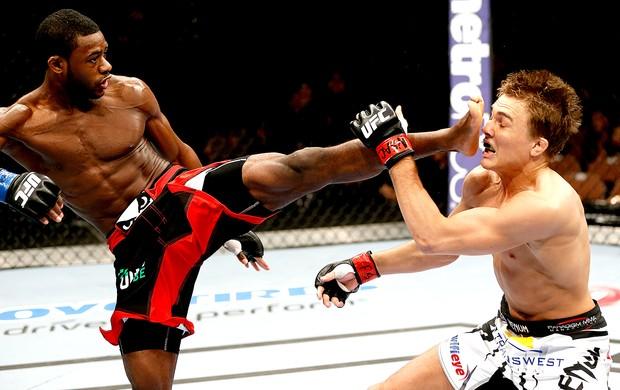 Aljamain Sterling chute UFC 170 (Foto: Getty Images)