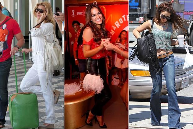 (X17) Carolina Dieckmann, Bruna Marquezine e Vanessa Hudgens (Foto: AgNews | X17)