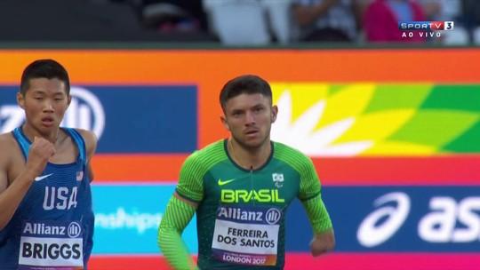 Mateus Evangelista fatura prata no salto e chega a três medalhas no Mundial