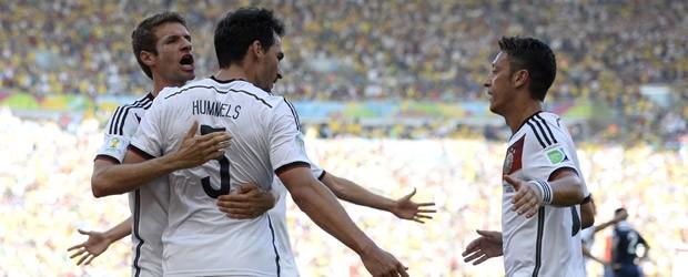Alemanha tira a França e está na semifinal (Alemanha tira a França e está na semifinal (Franck Fife/AFP))