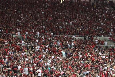 Maior público do Flamengo até agora no Brasileiro foi contra o Grêmio (Foto: Gilvan de Souza / Flamengo)
