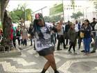 Encontro do passinho reuniu dançarinos na Central do Brasil
