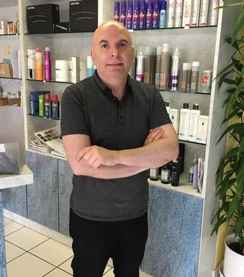 daniel cabeleireiro primo de gianni Infantino (Foto: Claudia Garcia / GloboEsporte.com)
