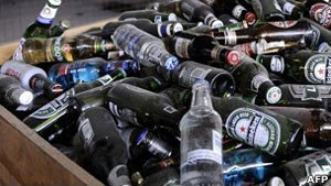 Genética indica predisposição ao alcoolismo (Foto: AFP/BBC)