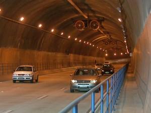 Túnel Joá Penteado em Campinas (Foto: Reprodução / EPTV)