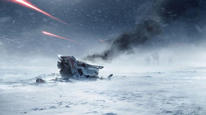 Prepare-se para voltar ao planeta gelado de Hoth em Star Wars Battlefront (Foto: Reprodução/Leviathyn)