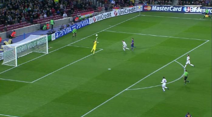 Messi, Barcelona x Bayer Leverkusen