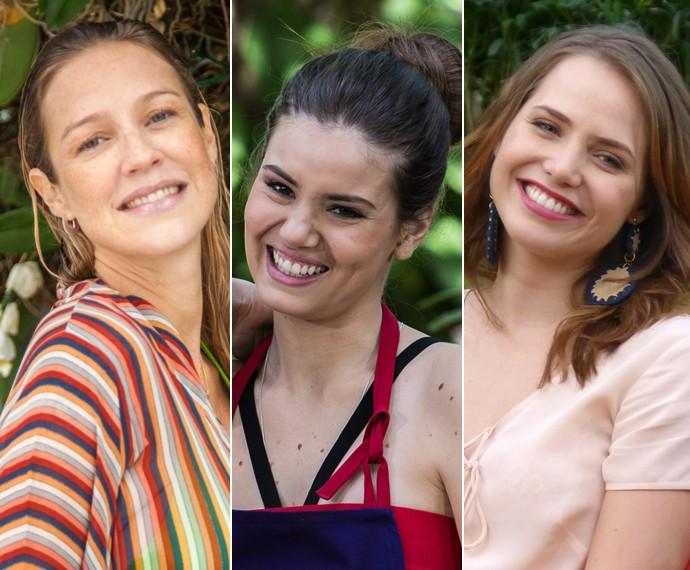 Luana Piovani, Camila Queiroz e Letícia Colin contam o que queriam ser (Foto: Fabiano Battaglin, Fábio Rocha e Nathália Gomes/Gshow)