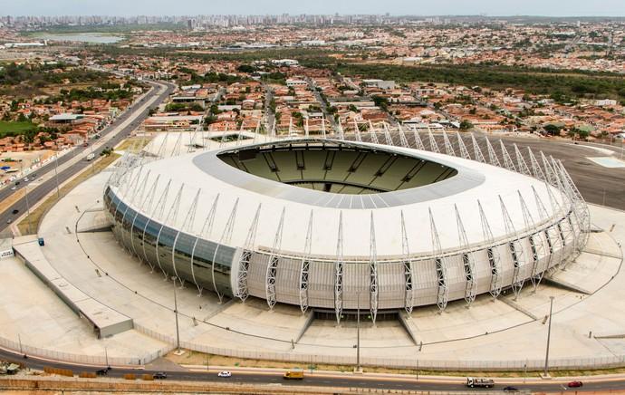 estádio arena castelão (Foto: Divulgação  )