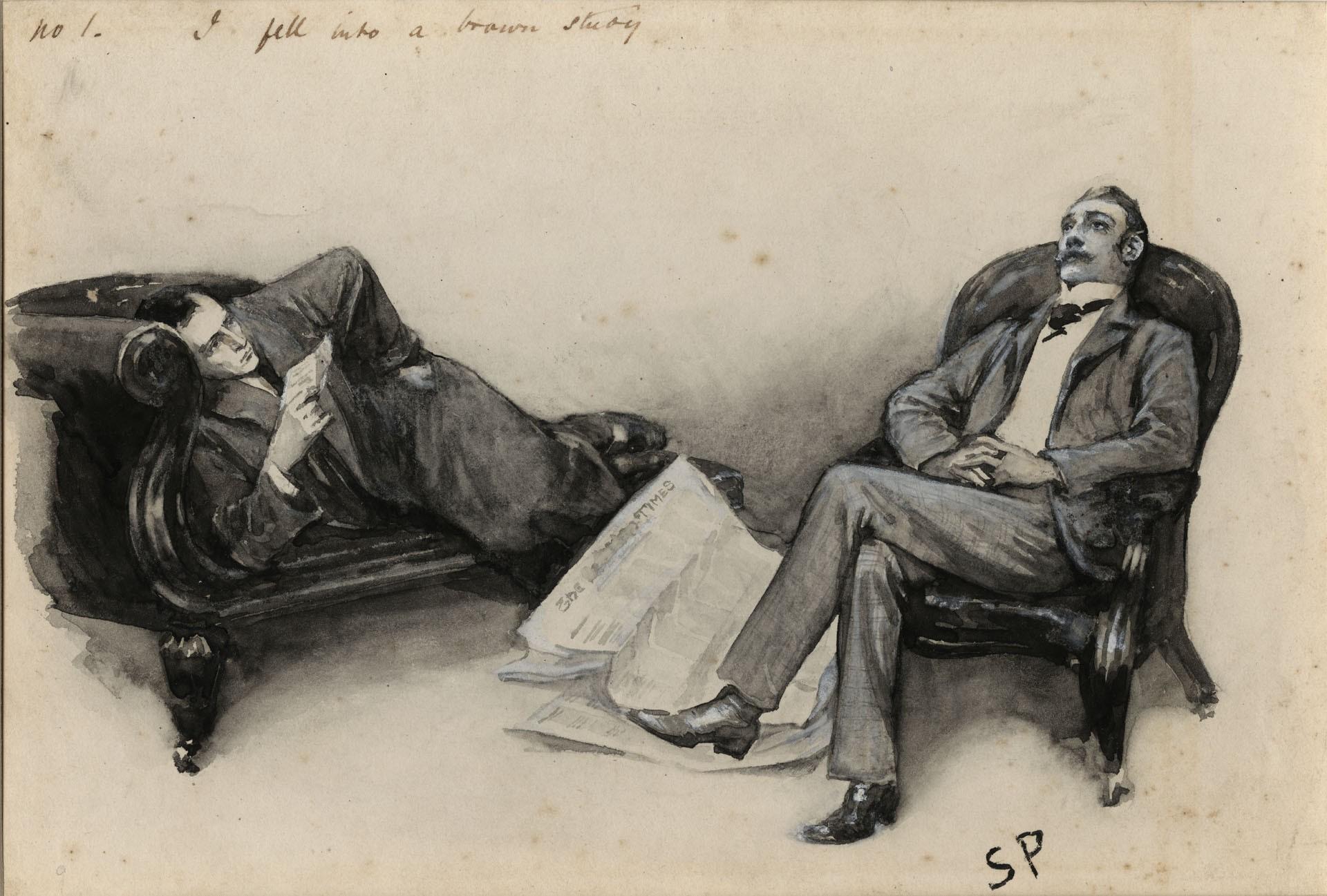 Sherlock Holmes é a origem do fãs aficionados