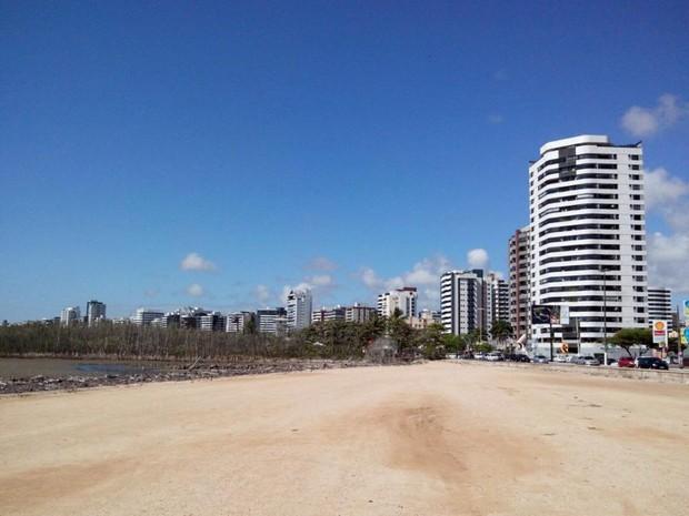 Investimento da obra do Bairro 13 de Julho é de R$ 4.998.998,78 (Foto: Marina Fontenele/G1)