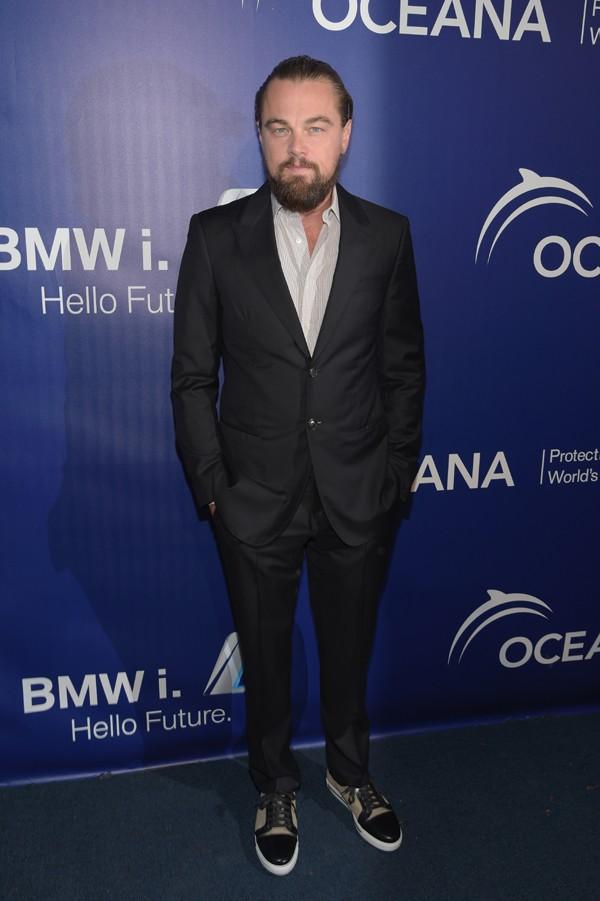 DiCaprio na festa anual do Oceana's (Foto: Getty Images)