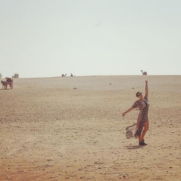 Giulia Costa no Egito (Foto: Reprodução/Instagram)