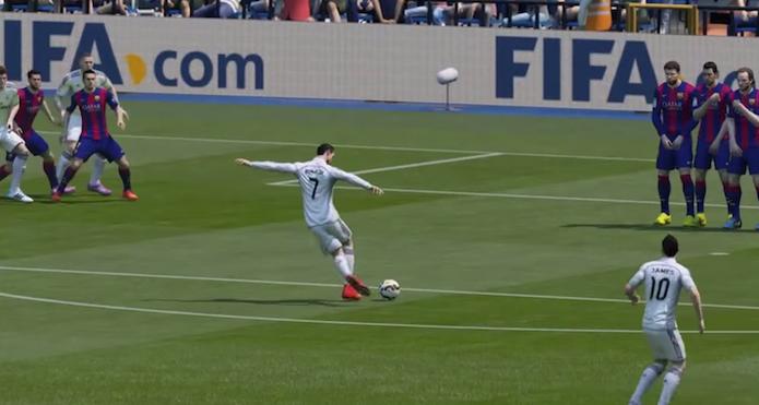 FIFA 15: vídeo reúne os melhores gols do game de futebol (Foto: Divulgação)